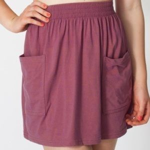 NWOT American Apparel Jersey Pocket Skirt